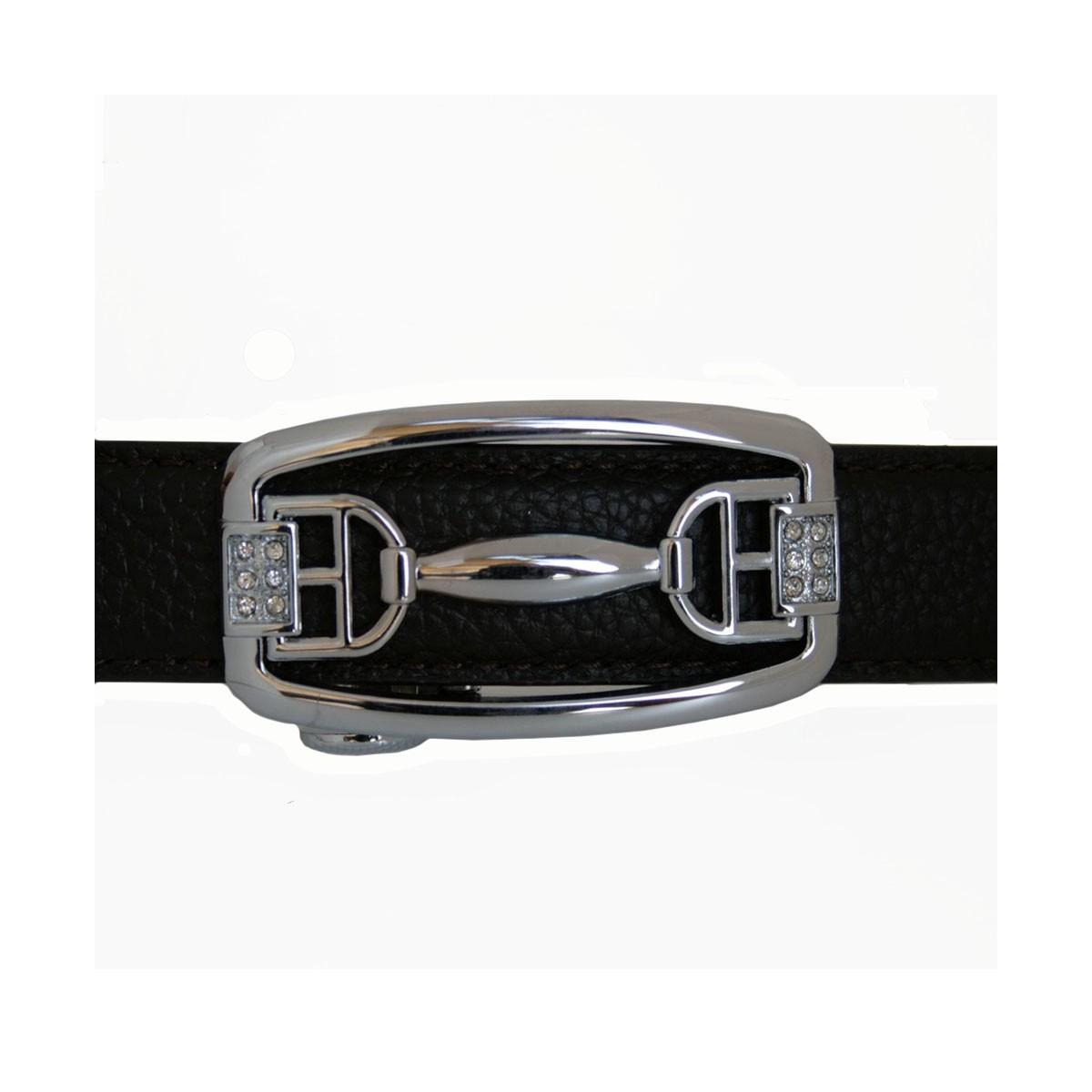 Boucle Star argenté pour ceinture Femme Lady à fermeture automatique